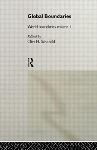 9780415088381: Global Boundaries: World Boundaries Volume 1: 001 (World Boundaries Series)
