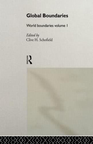 9780415088381: Global Boundaries: World Boundaries Volume 1 (World Boundaries Series) (Volume 3)