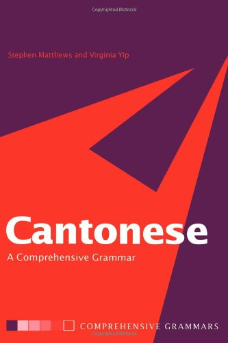 9780415089456: Cantonese: A Comprehensive Grammar (Routledge Comprehensive Grammars)