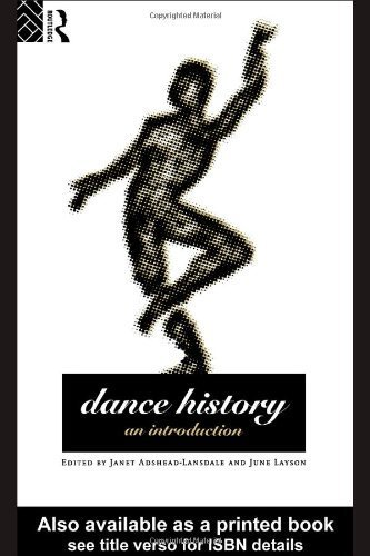 9780415090292: Dance History: An Introduction