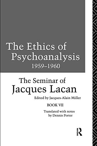 9780415090544: The Ethics of Psychoanalysis 1959-1960: The Seminar of Jacques Lacan (Seminar of Jacques Lacan (Paperback)) (Bk.7)
