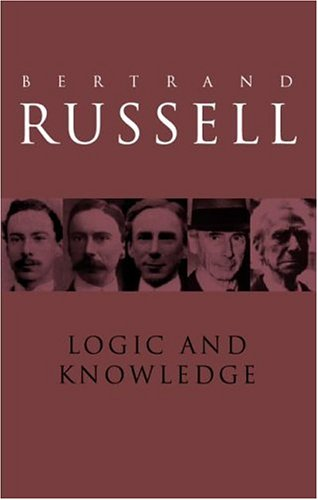 9780415090742: Logic and Knowledge: Essays, 1901-1950