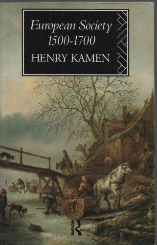 9780415090841: European Society, 1500-1700