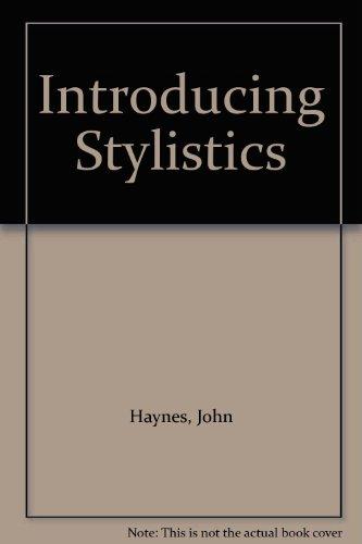 9780415090902: Introducing Stylistics