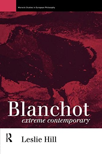 9780415091749: Blanchot: Extreme Contemporary (Warwick Studies in European Philosophy)