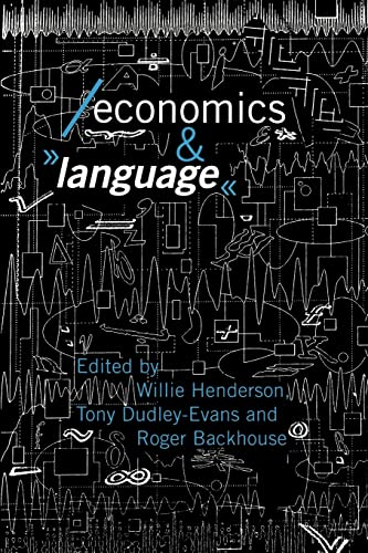 9780415092098: Economics and Language (Economics as Social Theory)