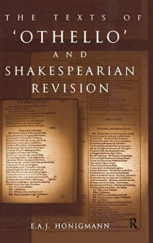 9780415092715: The Texts of Othello and Shakespearean Revision
