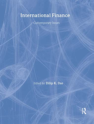 9780415092814: International Finance: Contemporary Issues