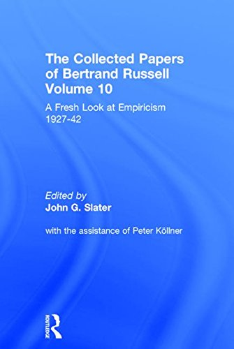 9780415094085: The Collected Papers of Bertrand Russell, Vol. 10