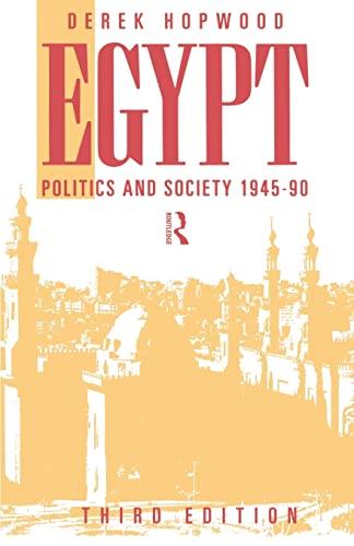 9780415094320: Egypt 1945-1990: Politics and Society