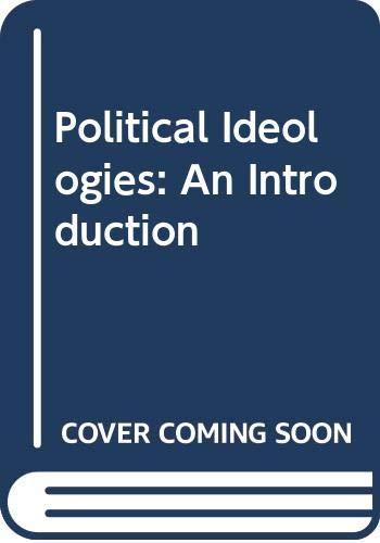 9780415094429: Political Ideologies: An Introduction