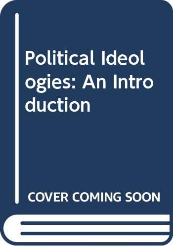 9780415094429: Political Ideologies: An Introduction