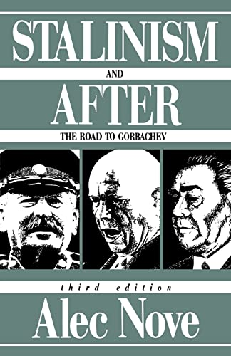 9780415094450: Stalinism and After: The Road to Gorbachev