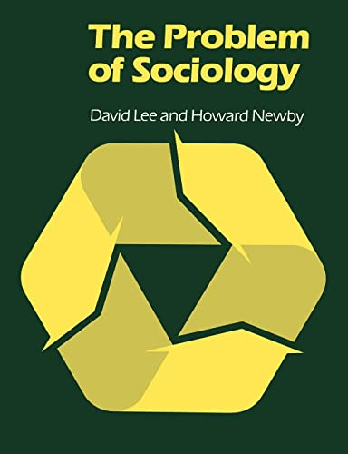 9780415094535: The Problem of Sociology