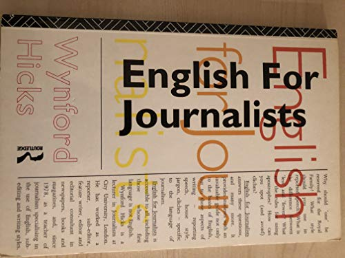 9780415094931: English for Journalists