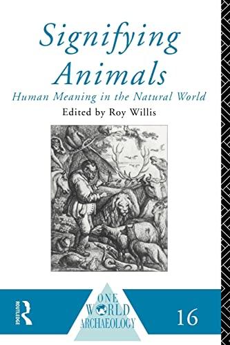 9780415095556: Signifying Animals