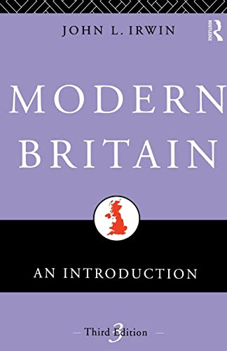 9780415095631: Modern Britain: An Introduction