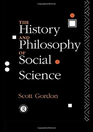 9780415096706: The History and Philosophy of Social Science