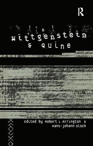 9780415096768: Wittgenstein and Quine