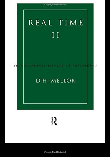 9780415097819: Real Time II (International Library of Philosophy)