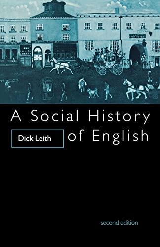 9780415097970: A Social History of English