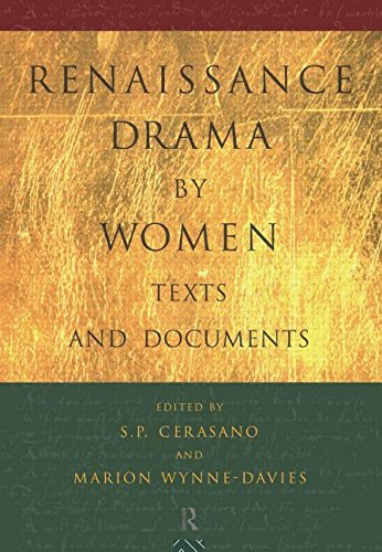 9780415098069: Renaissance Drama by Women: Texts and Documents