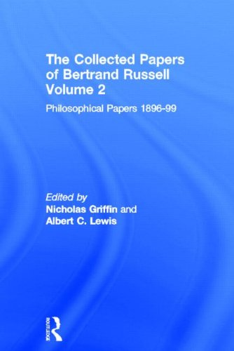 9780415098632: The Collected Papers of Bertrand Russell, Volume 2: The Philosophical Papers 1896-99