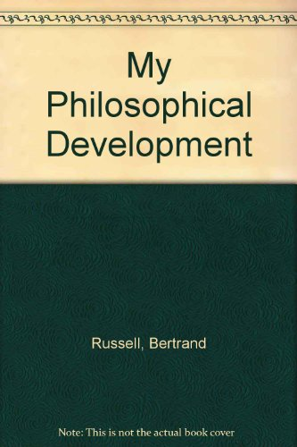 9780415098656: My Philosophical Development