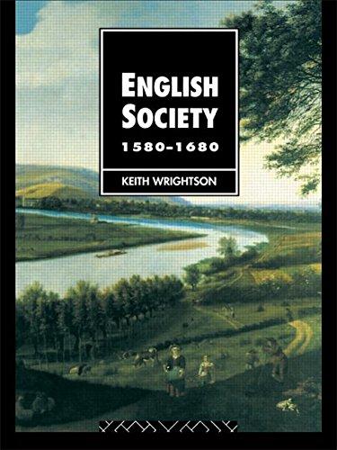 English Society 1580-1680: Keith Wrightson