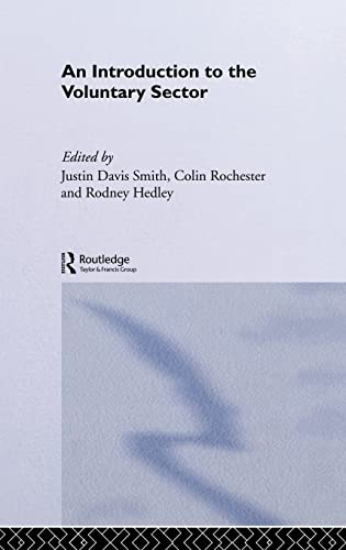 9780415099219: Introduction to the Voluntary Sector