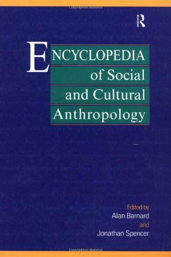 9780415099967: Encyclopedia of Social and Cultural Anthropology