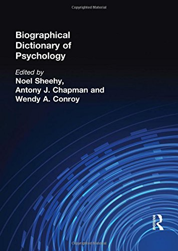 9780415099974: Biographical Dictionary of Psychology