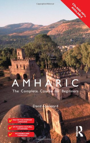 9780415100038: Colloquial Amharic (Colloquial Series)