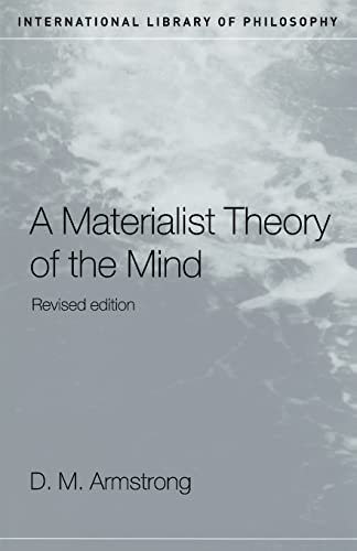 A Materialist Theory of the Mind (International
