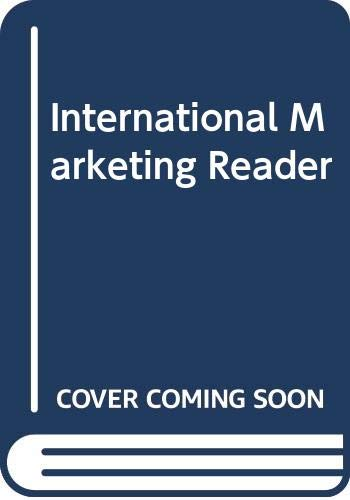 9780415100397: International Marketing Reader