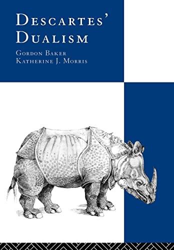 9780415101219: Descartes' Dualism