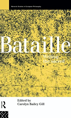 9780415101226: Bataille: Writing the Sacred (Warwick Studies in European Philosophy)