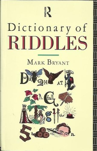 9780415101639: Dictionary of Riddles