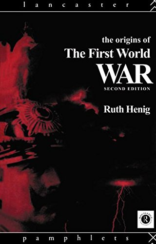 9780415102339: The Origins of the First World War (Lancaster Pamphlets)
