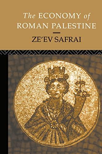 9780415102438: The Economy of Roman Palestine
