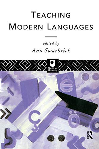 9780415102551: Teaching Modern Languages (Open University)