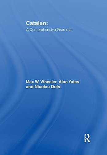 9780415103428: Catalan: A Comprehensive Grammar (Routledge Comprehensive Grammars)