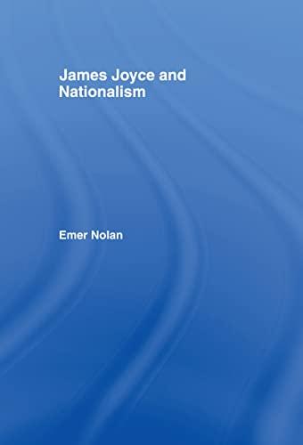 9780415103435: James Joyce and Nationalism