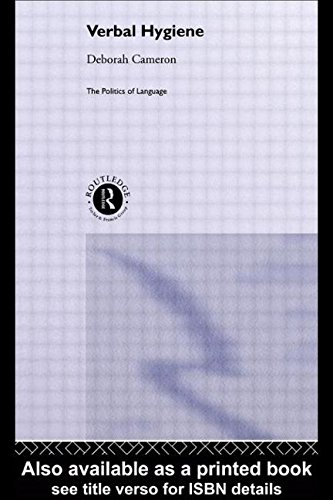9780415103558: Verbal Hygiene (The Politics of Language)