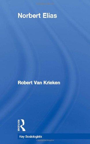 9780415104159: Norbert Elias (Key Sociologists)