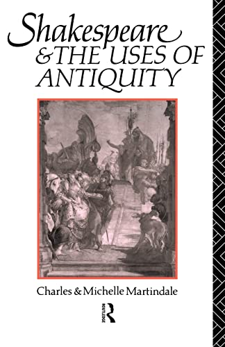 9780415104265 Shakespeare And The Uses Of Antiquity An