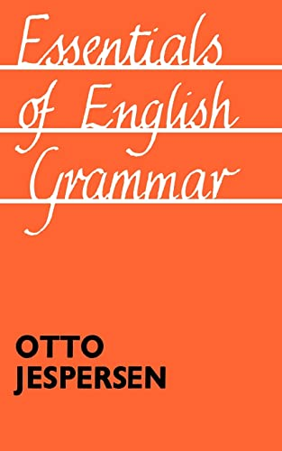 9780415104401: Essentials of English Grammar: 25th impression, 1987