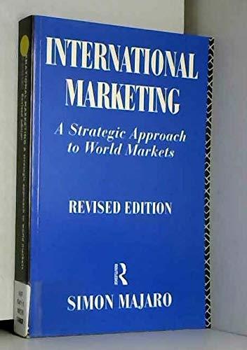 9780415104425: International Marketing: A Strategic Approach to World Markets