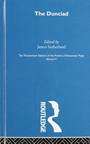 9780415105002: The Twickenham Edition of the Poems of Alexander Pope: The definitive edition of Pope's poetry, his notes, editorial notes plus introductions