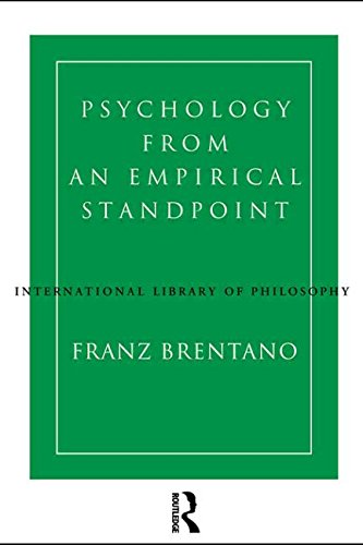 9780415106610: Psychology from an Empirical Standpoint (International Library of Philosophy)